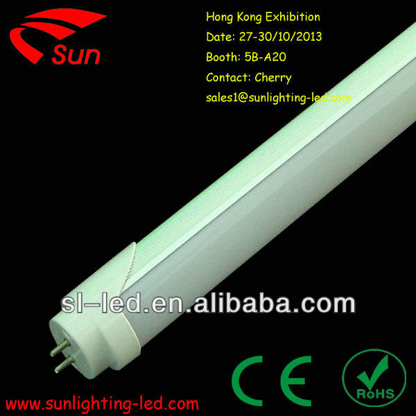 2013 Hong Kong Lighting Fair t8 compatible with ballas and starter led tube light