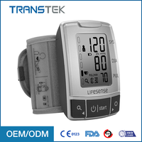 Professional Portable Electronic Digital LCD Display Blood Pressure Monitor