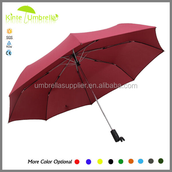 Honsen OEM design High Quality Cheap Auto Open Closed Fold Umbrella folding umbrella with bag