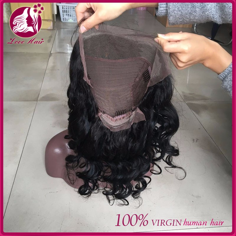 "250% Density Glueless Full Lace Human Hair Wigs For Black Women 8A Lace Front Human Hair Wigs 12""-24"" Malaysian Curly Wig"
