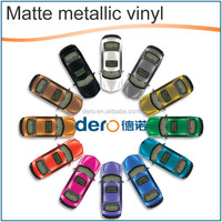 Matt Metallic Chrome Car Wrap Vinyl Foil