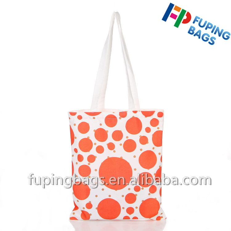 promotional canvas bag 100% cotton or customize shopping gift hand carry tote bag