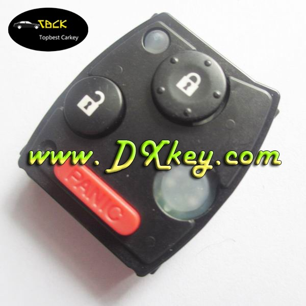 433mhz with 46 Electronic chip remote key circuit board for crv remote key crv key