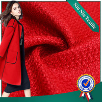 Shaoxing Textiles supplier Best selling Beautiful Knit wool suit fabric
