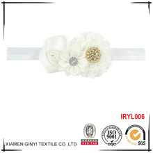 China manufacturers cute ribbon flower baby asian hair accessories