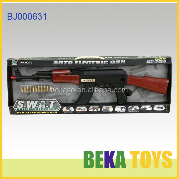 New toys electronic sound gun and weapon plastic toy gun AK47 safe sniper toy gun