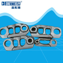 Excavator PC200-5 track link assembly, 20Y-32-00013/20Y-32-00014/20Y-32-K1170 excavator undercarriage parts