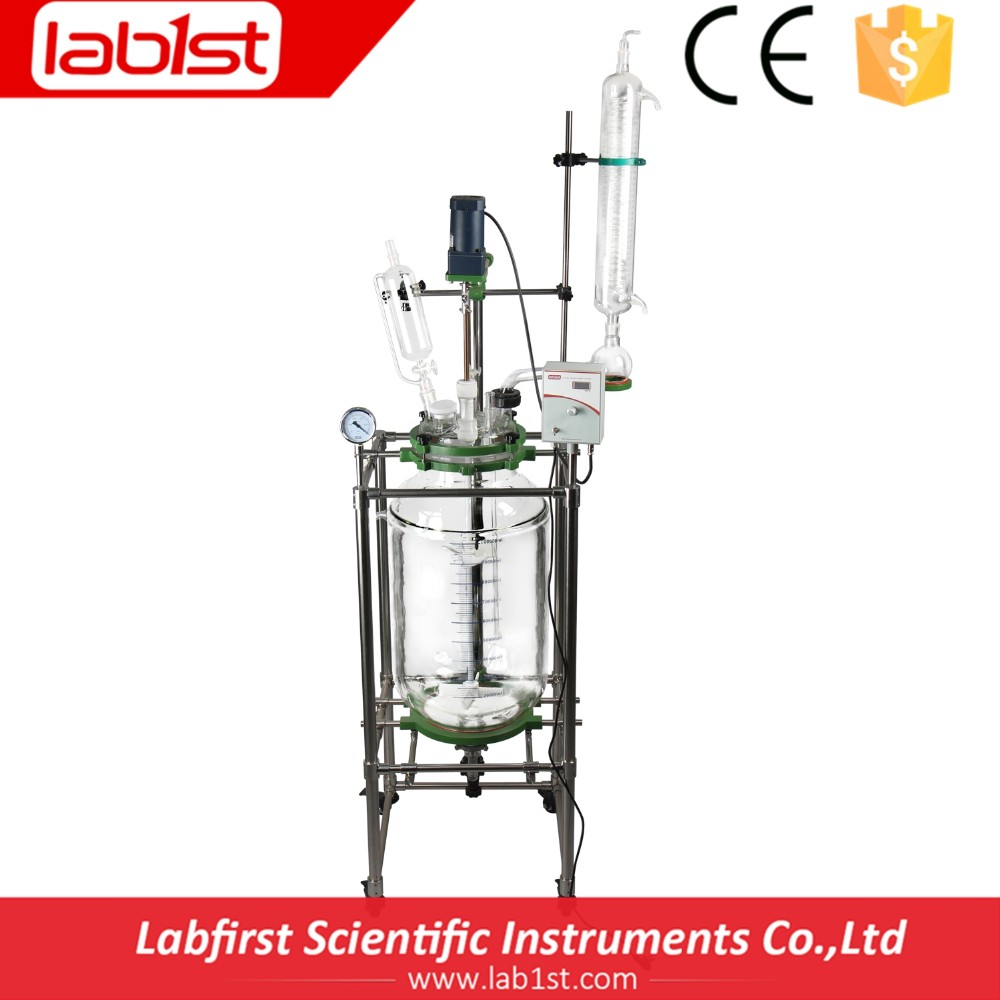 High Quality Bioreactor with double layer and stainless steel frame