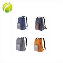 Factory wholesale simple fashion students polyester school backpack