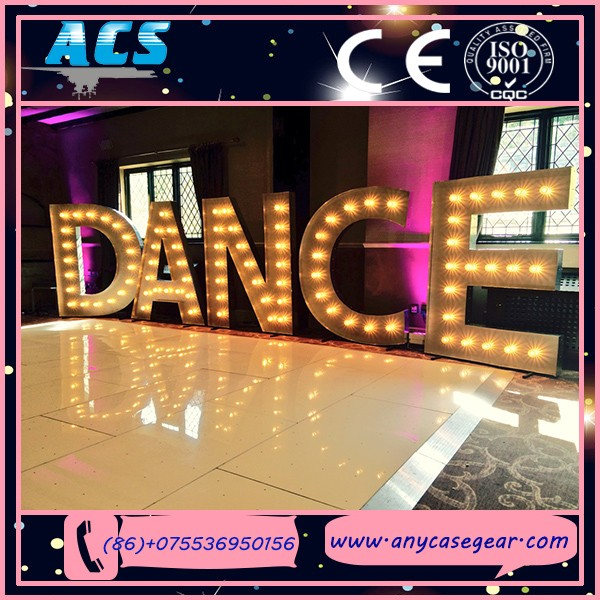 LED letter lighting led bulb wedding love letter light up letters