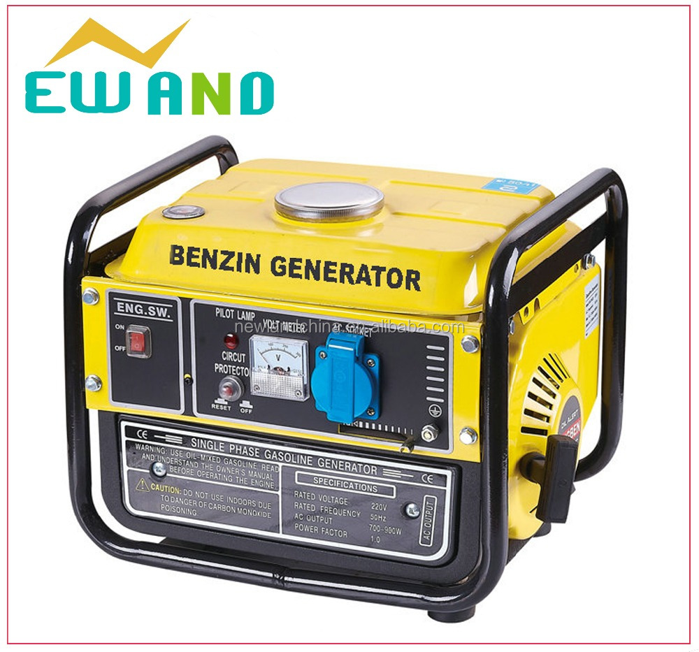 High quality 750watt generator for home use portable battery powered generator