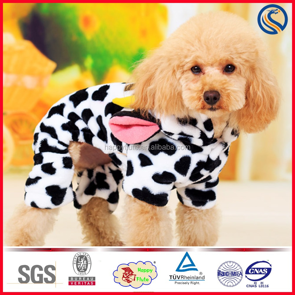 Wholesale cute winter pet cat dog poodle Dog Cloths