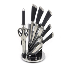 High Grade 7pcs Super Kitchen Gift Knife Set with Acrylic Stand