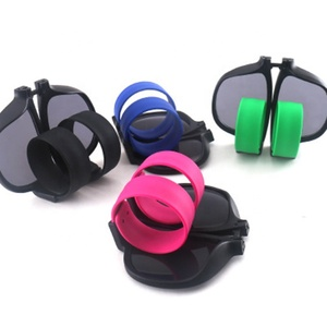 Promotion Foldable Pops Circle silicone wristband sunglasses Cycling sunglasses