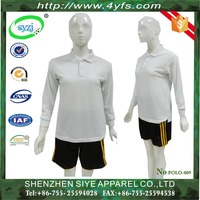 Factory oem high quality dry fit color combination man polo shirt