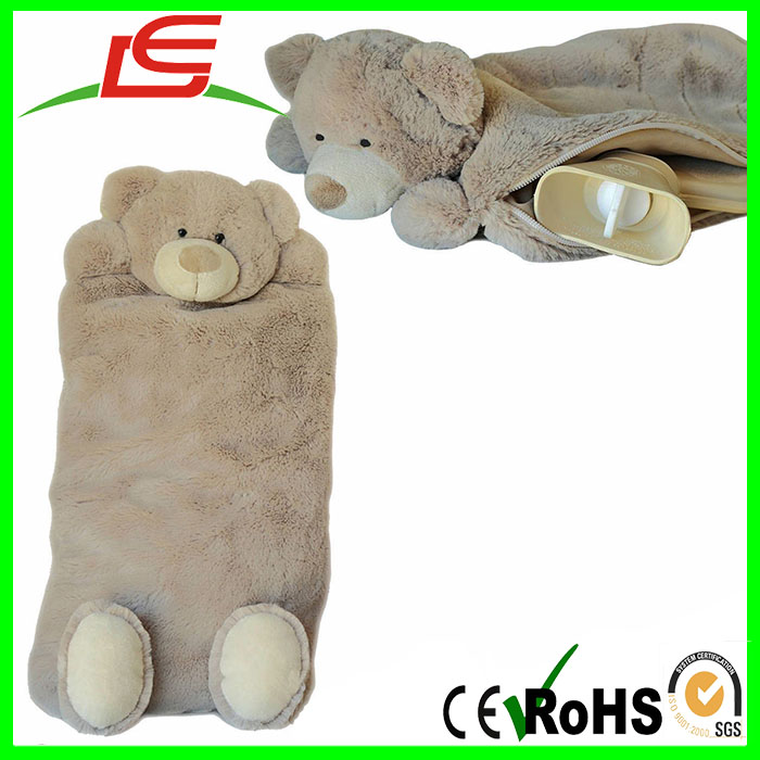 Wholesale Plush Teddy Bear Hot Water Bottle Cover