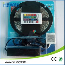 Hot selling 12v Full Kit colorful 5m 5050 rgb led strip