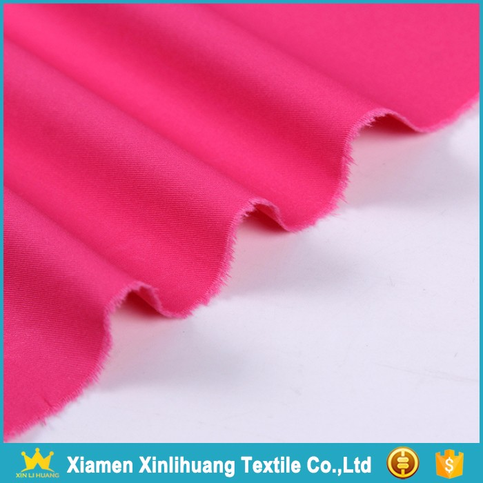Alibaba Supplier Pink 100 Cotton Twill Shirting Fabric for Sale