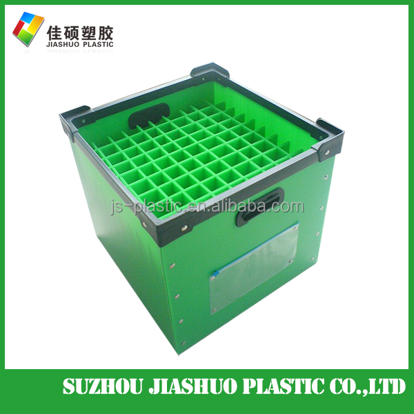 High quality Customized Coroplast PP Box orrugated Plastic Container