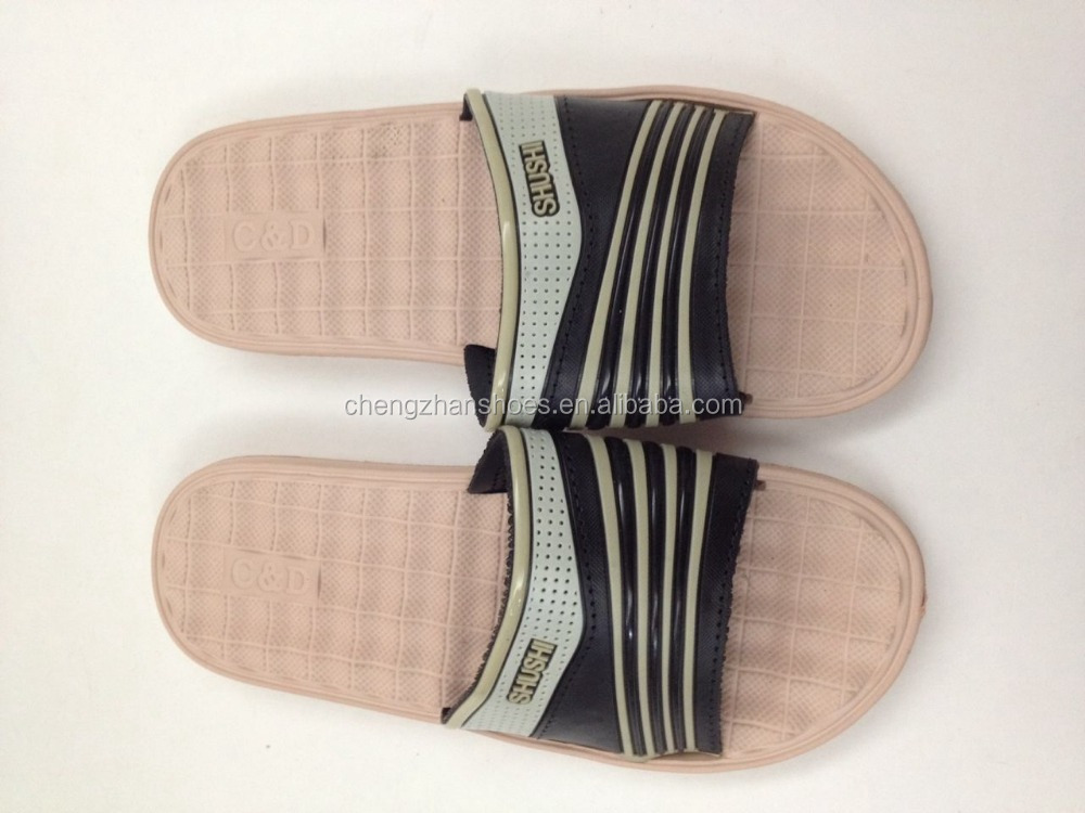 Stock EVA men slippers made in china with fashion design