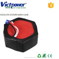lithium battery pack 6s 11p 24v 23.65ah battery pack for model airplane