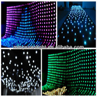 Professional Light Stage Decoration Soft Led Light Stage Curtain