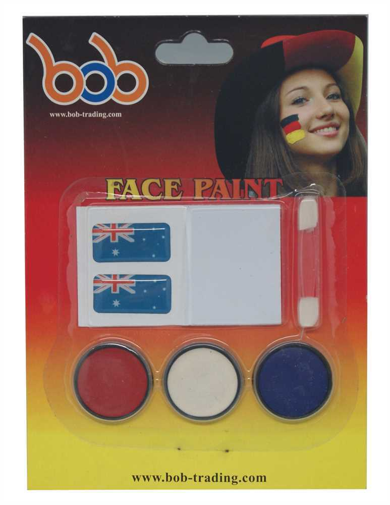 2016 Euro world cup football manufacturer Germany face paint long lasting eyebrow gel