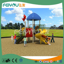 Large slide playground equipment metal slides for kids
