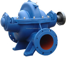 Double suction split case high flow rate centrifugal water pump