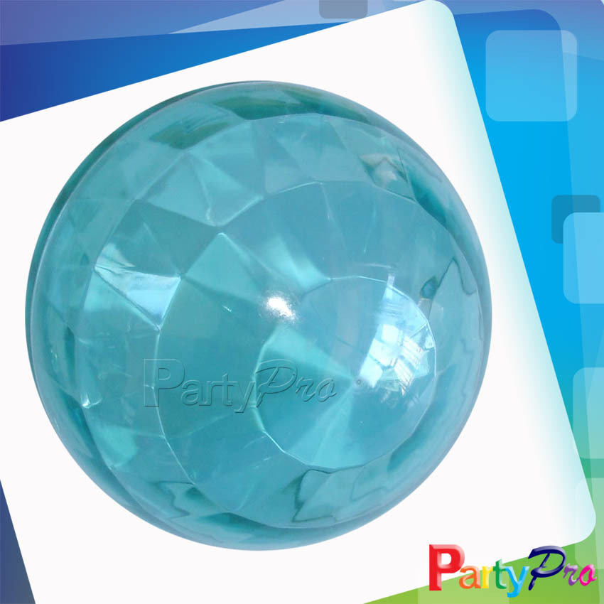 2014 Hot Sale Diamond Shape Hollow Plastic Bouncing Balls Toy Jumping Pop High Bouncing Ball