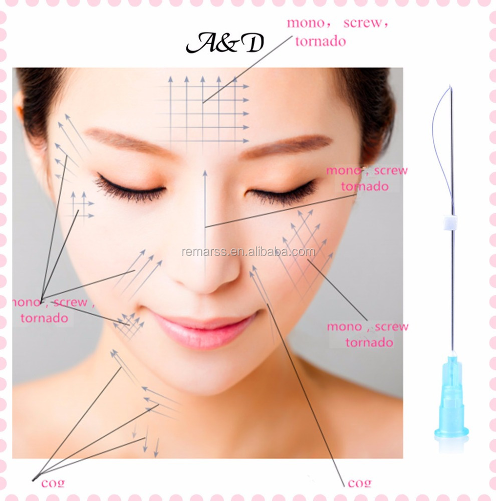 2017 New Remarss Gold Thread Face Lift for Face