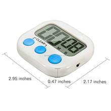 100 minutes large LCD display digital battery powered timer