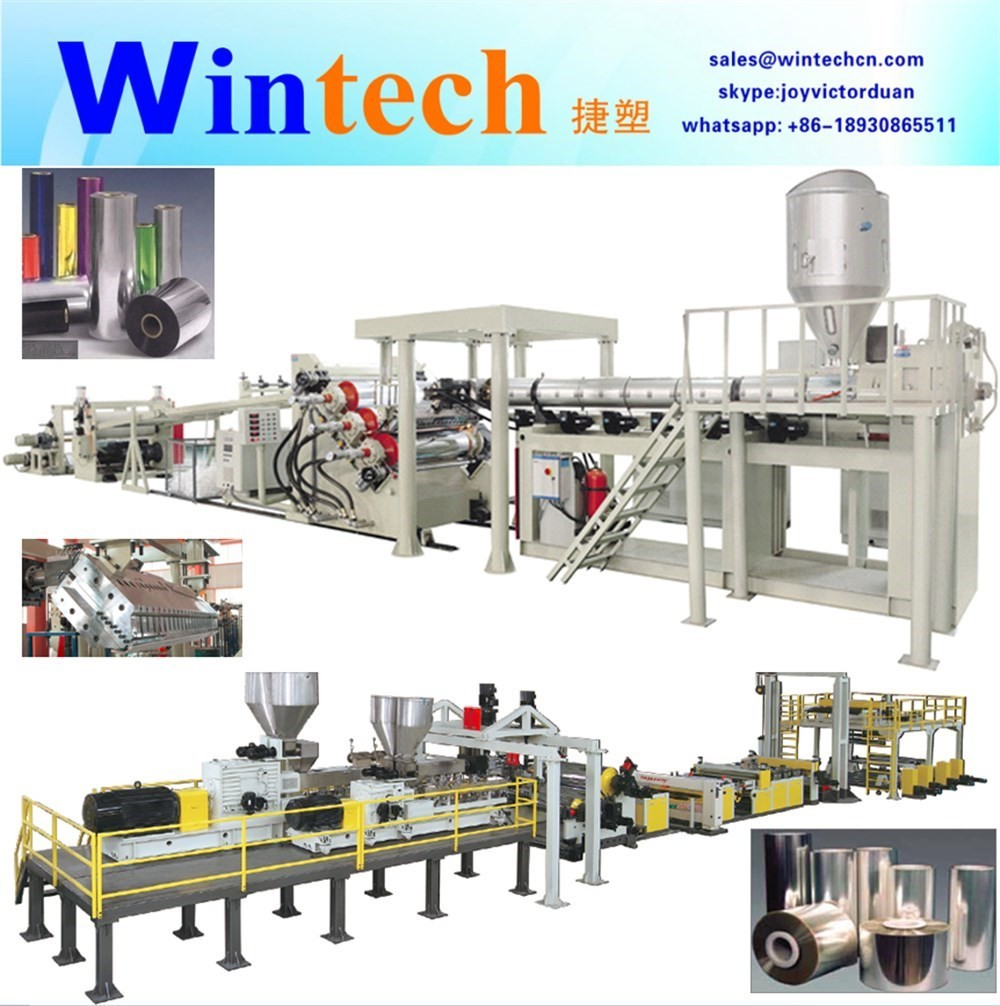 PET/CPET Sheet Extrusion Line/PET sheet making machine factory