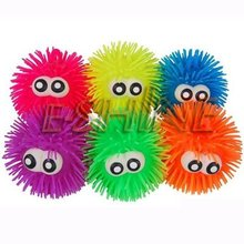 eyes inflatable flash puffer ball,promotion toys