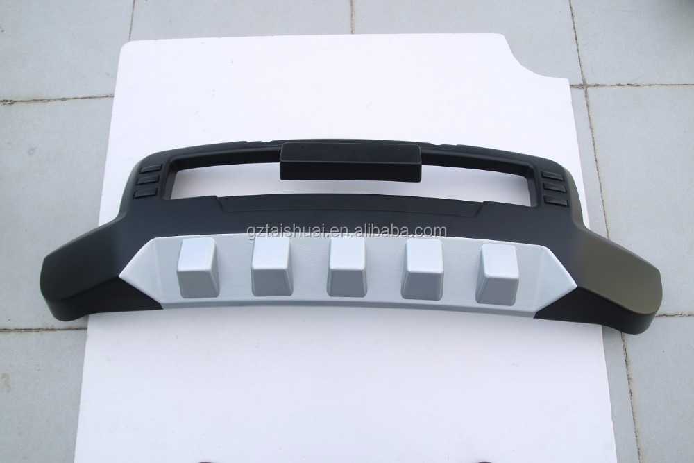 Aluminum and abs plastic front bumper guard for Dmax 2012 2013 2014