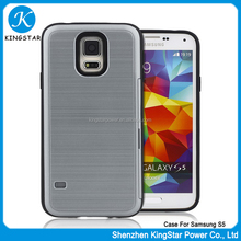 Best Selling Colorful Hybrid TPU PC Mobile Cell Phone Case For Samsung S5