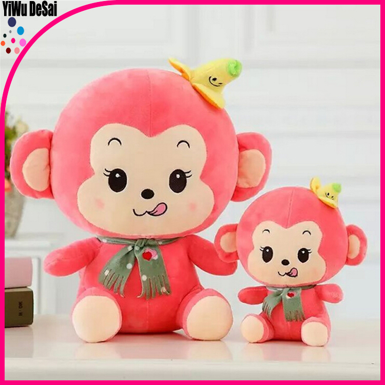 plush monkey toys sutitable for the monkey years and wedding for party