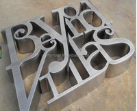 stainless steel sign Seiko stainless steel letters