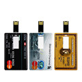 OEM Promotional Gifts Custom Logo 2GB 4GB 8GB 16GB Business Credit Card Usb Flash Drive