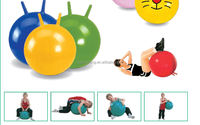 Advertising Hopper Ball PVC 45cm hopper Yoga ball
