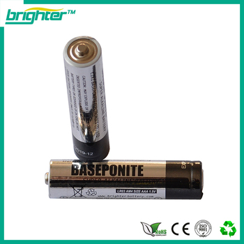 alkaline aaa battery for Glass Hookah Shisha Led Lighting Products