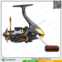 Spinning fishing method GAF 1000 to 6000 series and spincast reel