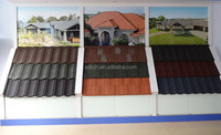 Shingle Stone coated metal roof tile/durable and weatherproof substitute of plastic roof tile