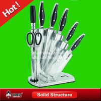 High grade stainless steel knife sets with SS knife blanks
