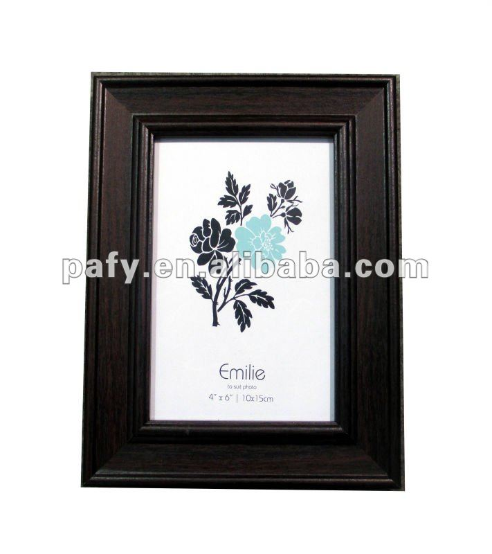 WOODEN MDF PICTURE FRAME BLACK PHOTO FRAME CERTIFICATE PHOTO FRAME