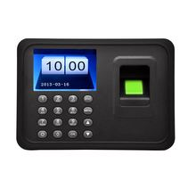 "2.4"" TFT LCD Display USB Biometric Fingerprint Attendance Machine DC 5V/1A Time Clock Recorder Employee Checking-in Reader"