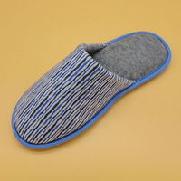 Woman wedge heels slipper safety shoes factory