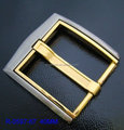 China Shanghai factory manufacturing gold belt buckle with high quality