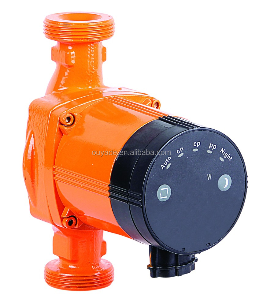 Automatic energy-saving hot water Class A circulating pump Auto 25/60-180A for solar system/Underfloor-heating domestic use
