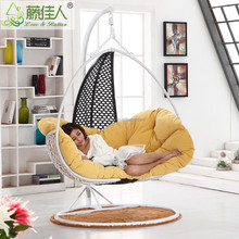 indoor rattan hanging chair swing